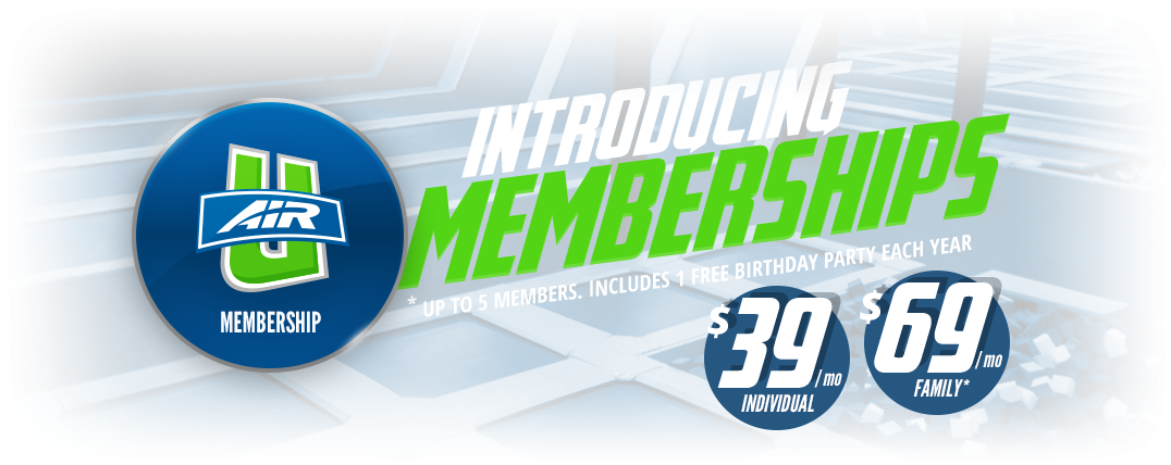 Membership for Air U Longview